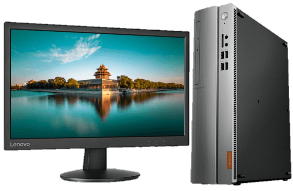 Lenovo Ideacentre 310S-08ASR + Monitor LI2215s