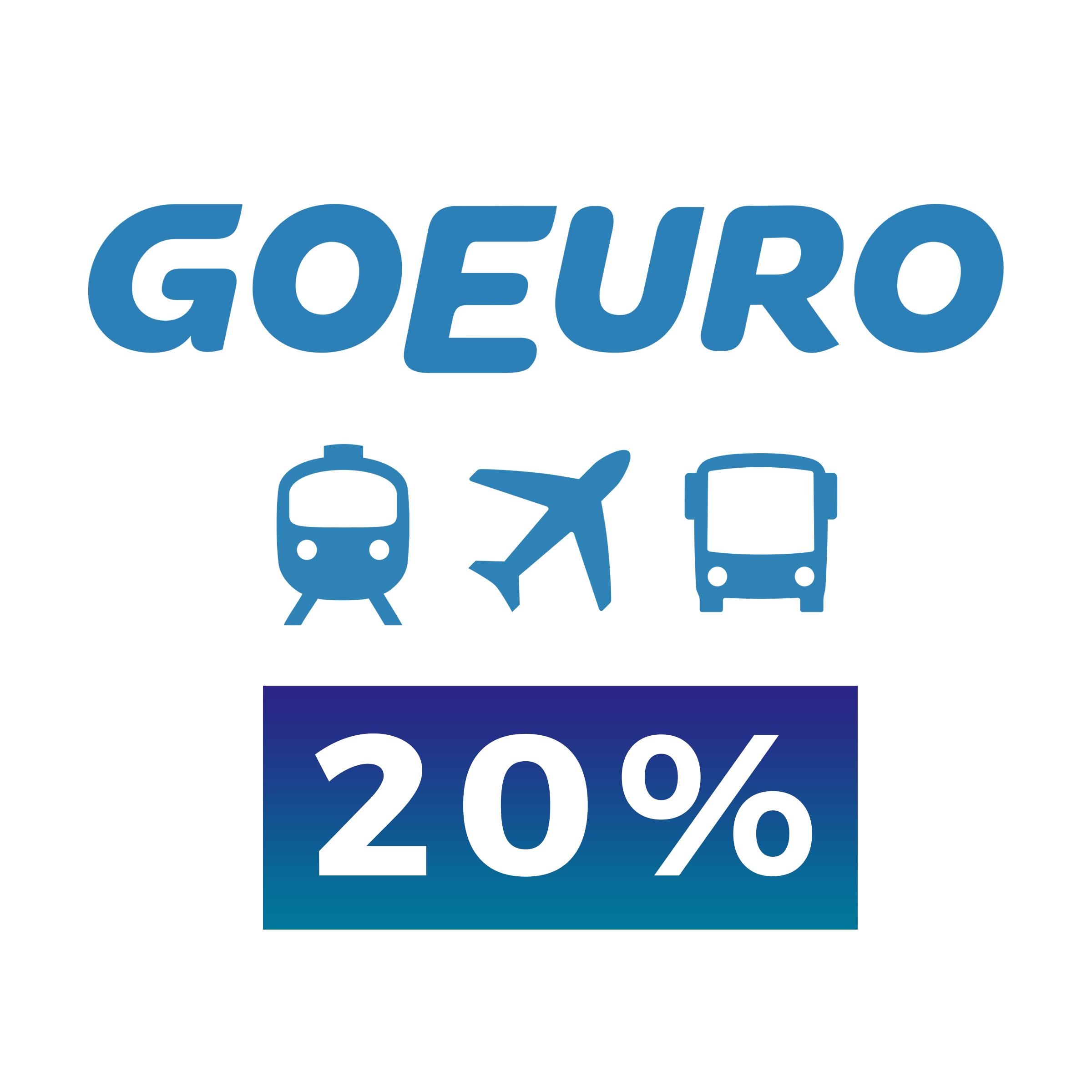 20% de descuento en Trenes, Vuelos y Autobuses! (Todo el Mundo) (Renfe, Iberia, AirEuropa, Alsa...)