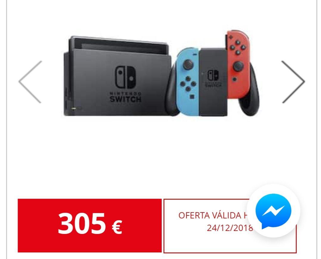 Nintendo switch rebajada en algunos Alcampo