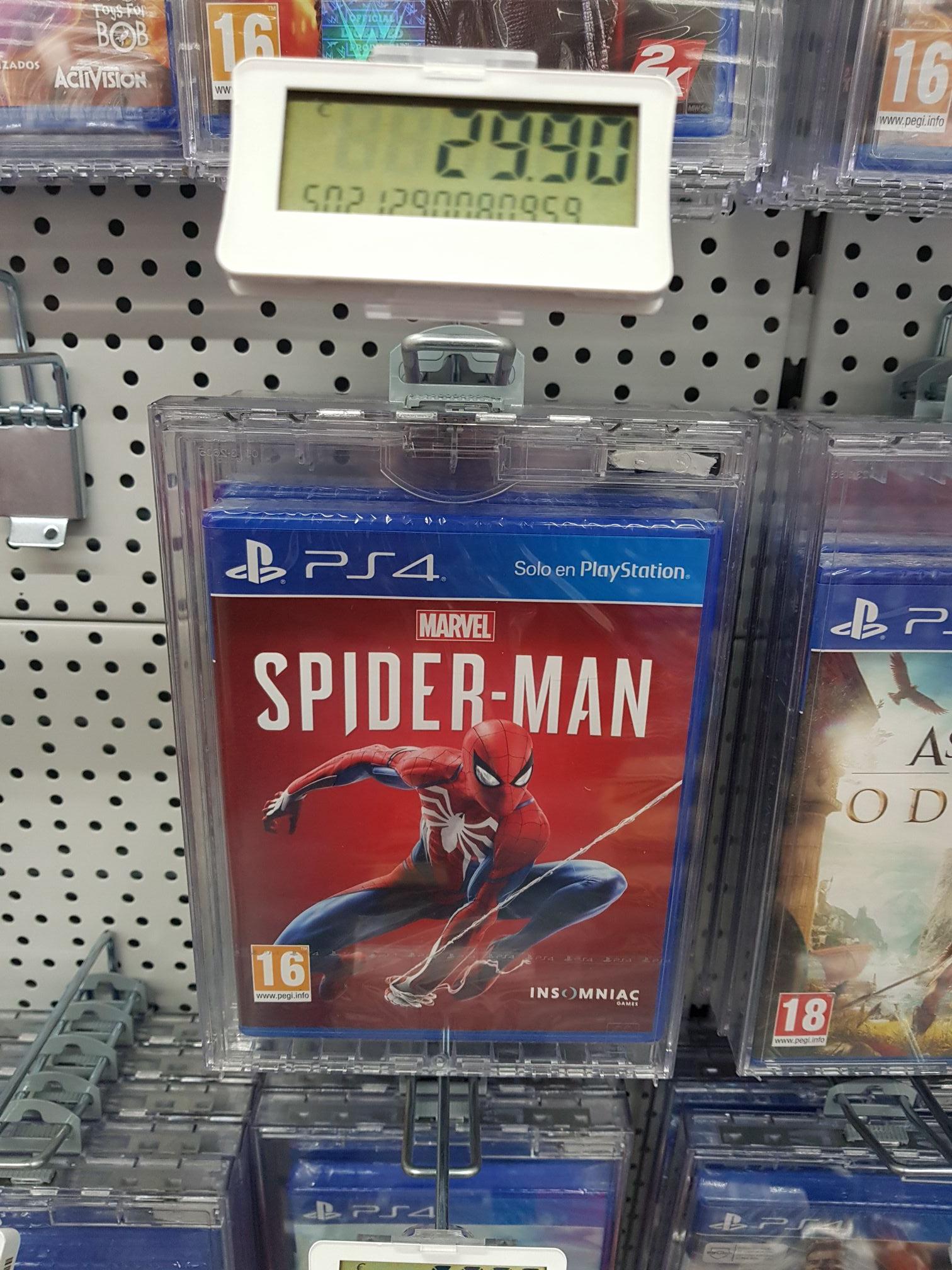 Juego Spiderman ps4 (media Markt islazul)