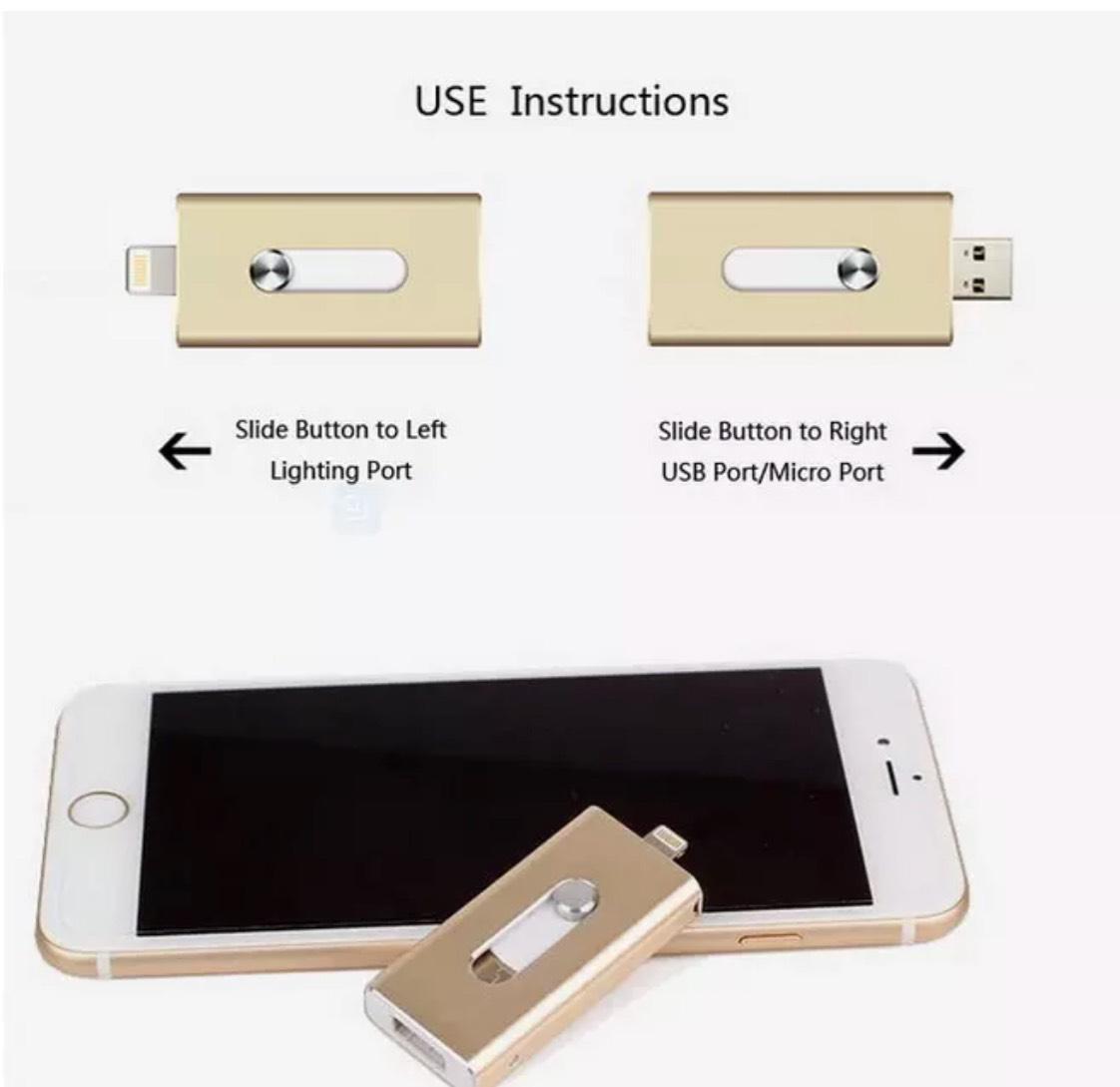 Usb flash drive dual ios