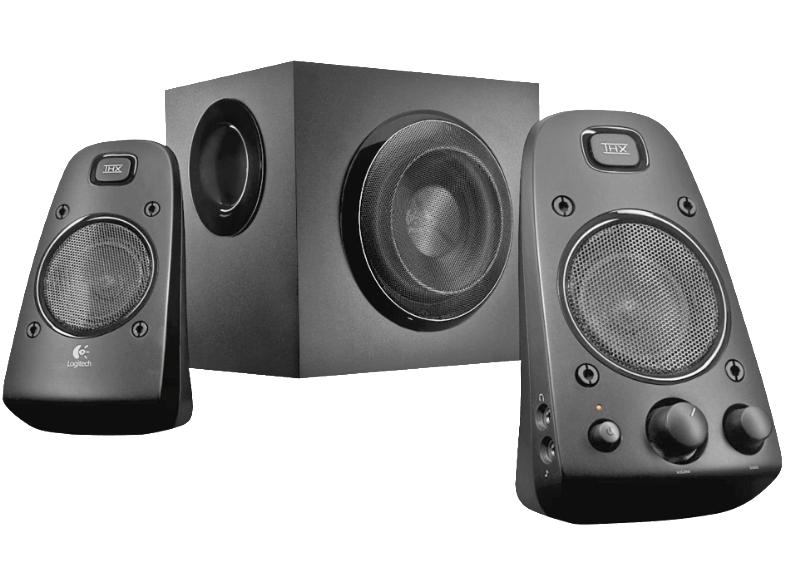 Logitech Speaker System Z623, 2.1, RCA y 3.5mm