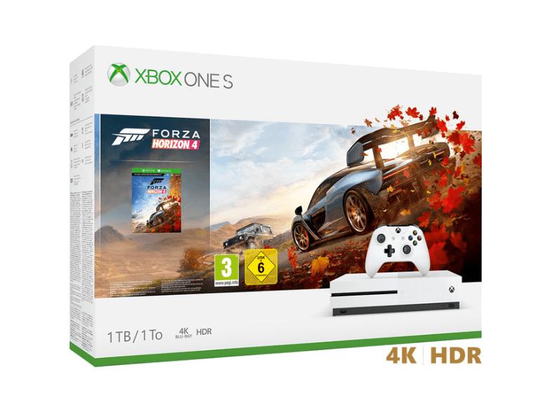 Pack-Microsoft Xbox S 1TB+ Forza Horizon 4 más regalo de un segundo mando!