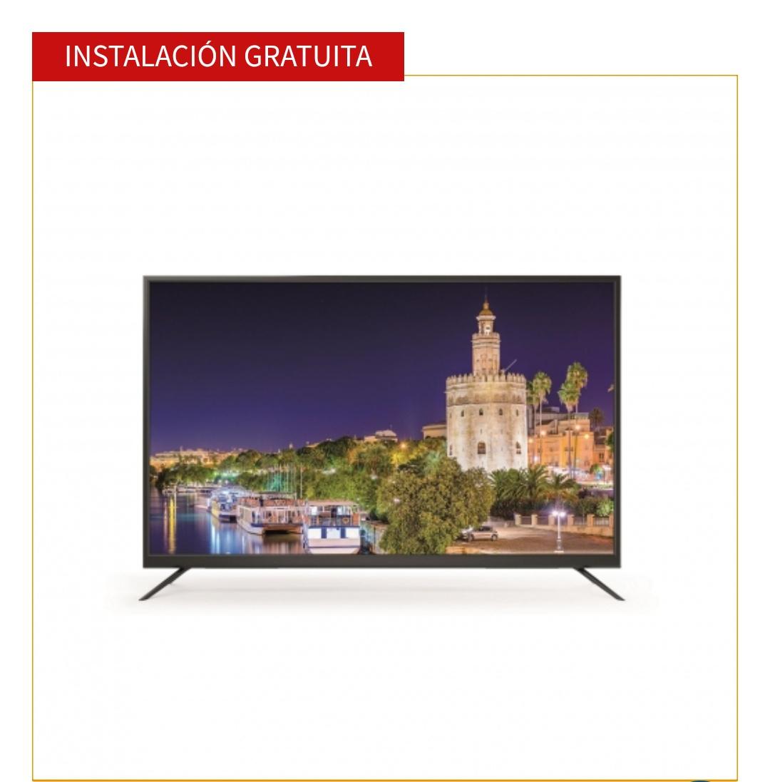 TV LED 139,7 cm (55'') TD Systems 55DLM7U, UHD  (Reacondicionada) + instalacion gratuita