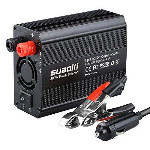 Inversor de corriente y arrancador Suaoki