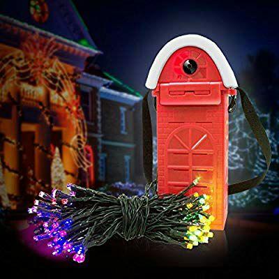 Luces de Navidad que funcionan con solución salina
