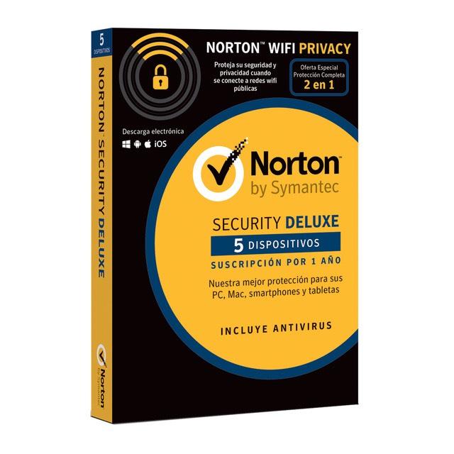 Antivirus Norton Security Deluxe + VPN