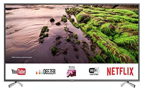 "Sharp  UHD Smart TV Slim de 55""  4k, HDR+, 3X HDMI"