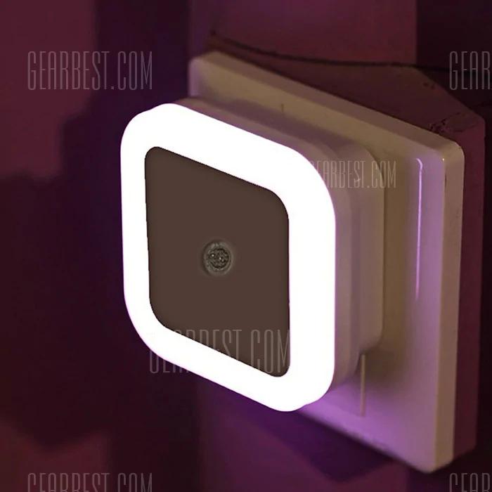 Lámpara de inducción de dormitorio con luz nocturna inteligente LED