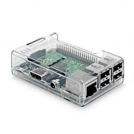 Estuche protector de ABS transparente para Raspberry Pi 2 Modelo B + / Pi 3 Modelo B