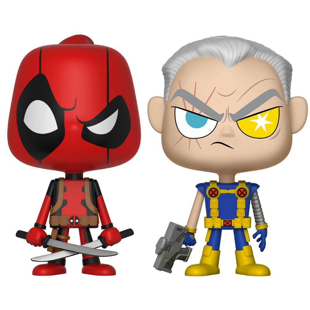 Figuras Funko Vynl. Deadpool y Cable - Marvel Deadpool