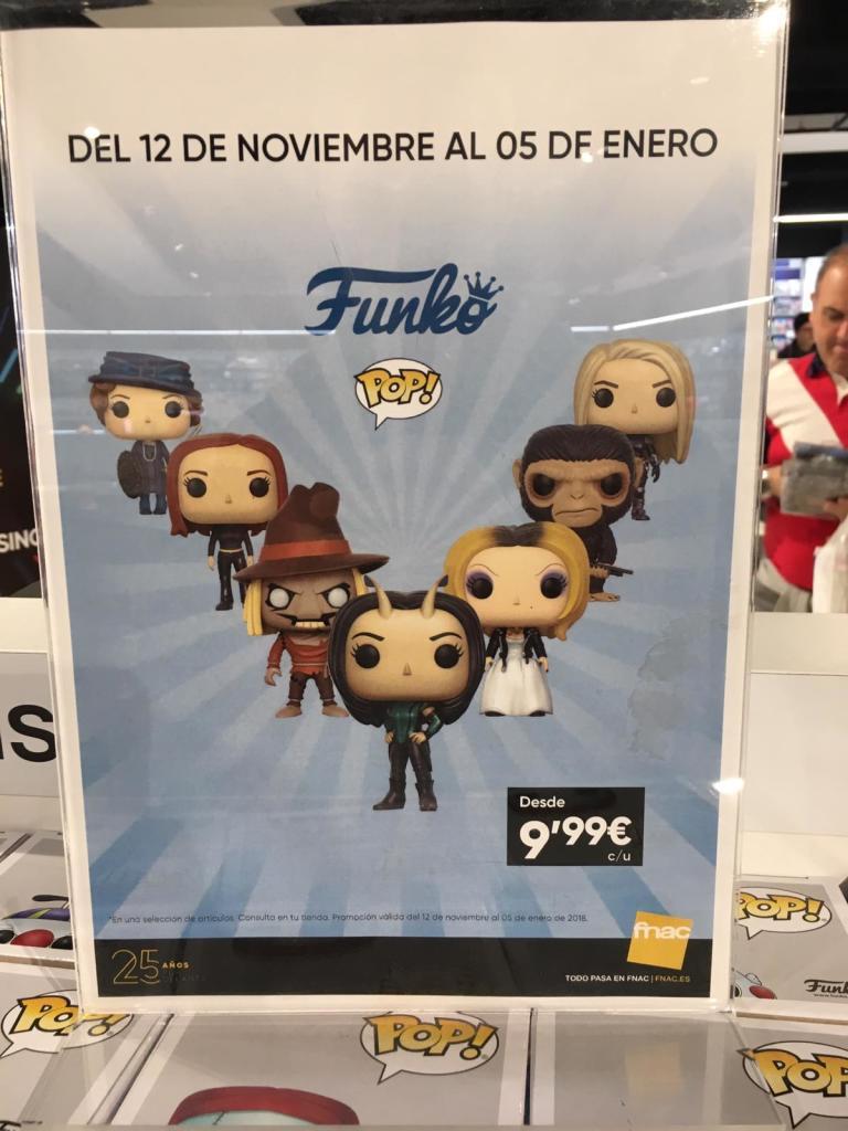 Funko Pop FNAC 9.99€