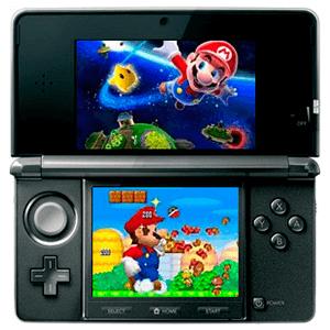 Nintendo 3DS negra semi nueva