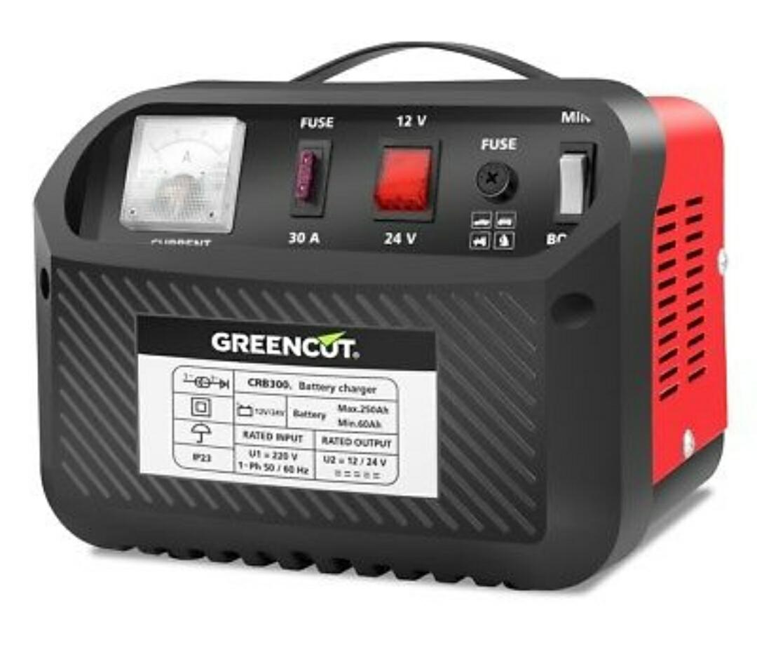 Cargador de bateria multifuncion 12V/24V 30A coche y moto