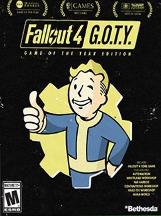 Fallout 4: GOTY - Unidades limitadas