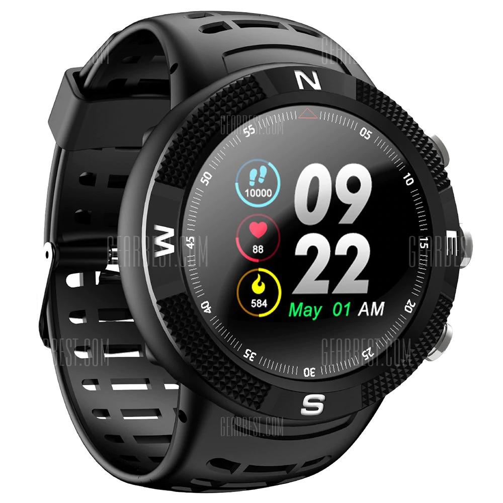 NO.1 F18 GPS Sports Smartwatch - BLACK 27