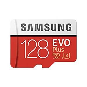 Tarjeta memoria 128GB + adaptador [Samsung Evo Plus]