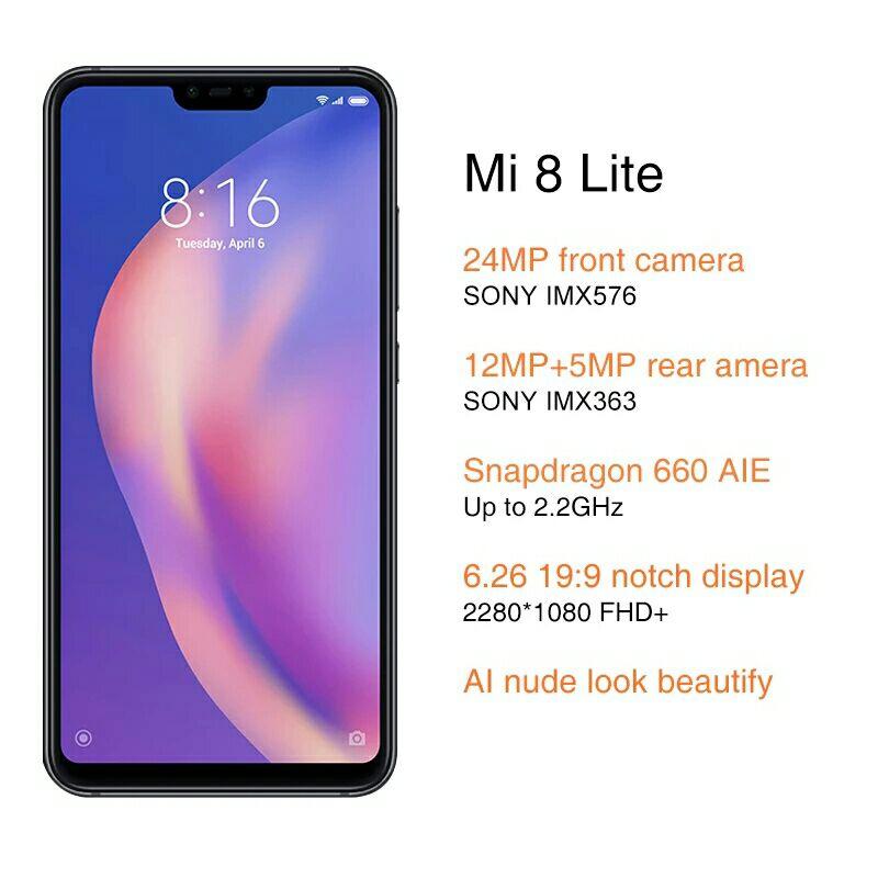 Nuevo Xiaomi Mi 8 Lite rebajado.