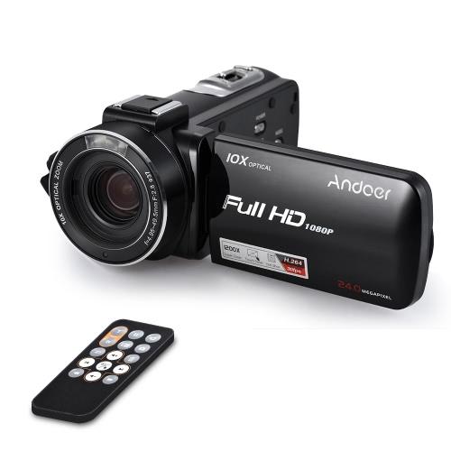 Andoer HDV-Z82 1080P Full HD Digital Video Camera
