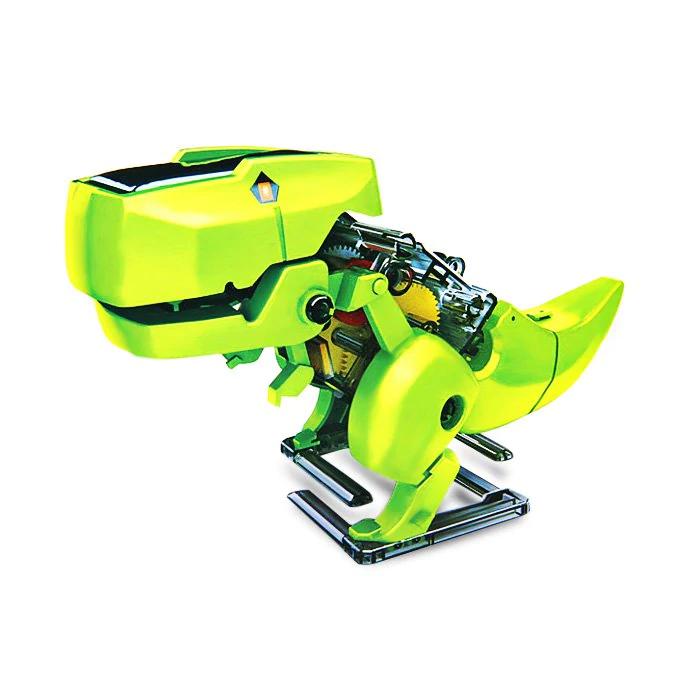Dinosaurio robot solar
