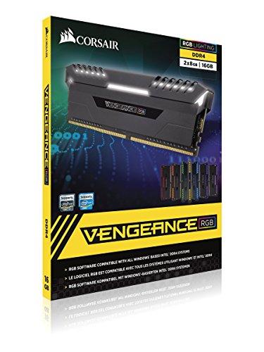 Memoria RAM Corsair 2x16GB DDR4 3000Mhz RGB