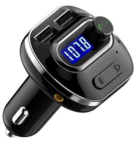 Transmisor FM Bluetooth 4.1 para Coche