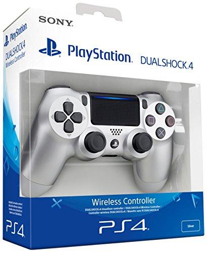 Dualshock 4 V2 Mando Inalámbrico, Color Plateado (PS4)