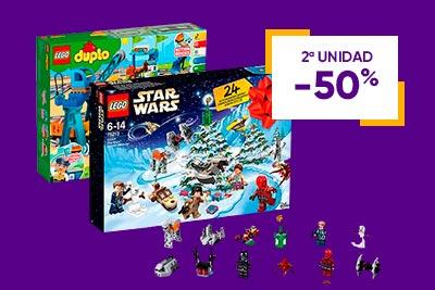 Lego ( Segunda Unidad al 50% de descuento)