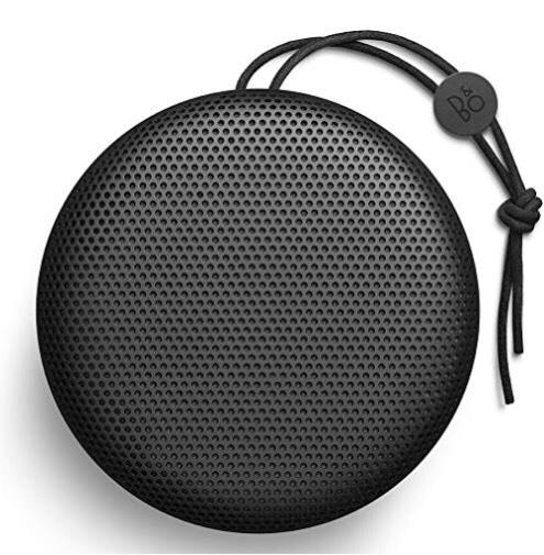 Beoplay A1 de Bang & Olufsen - Altavoz Bluetooth portátil con micrófono, negro