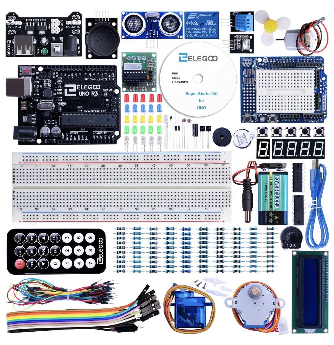 ELEGOO - Kit iniciación a UNO para Arduino