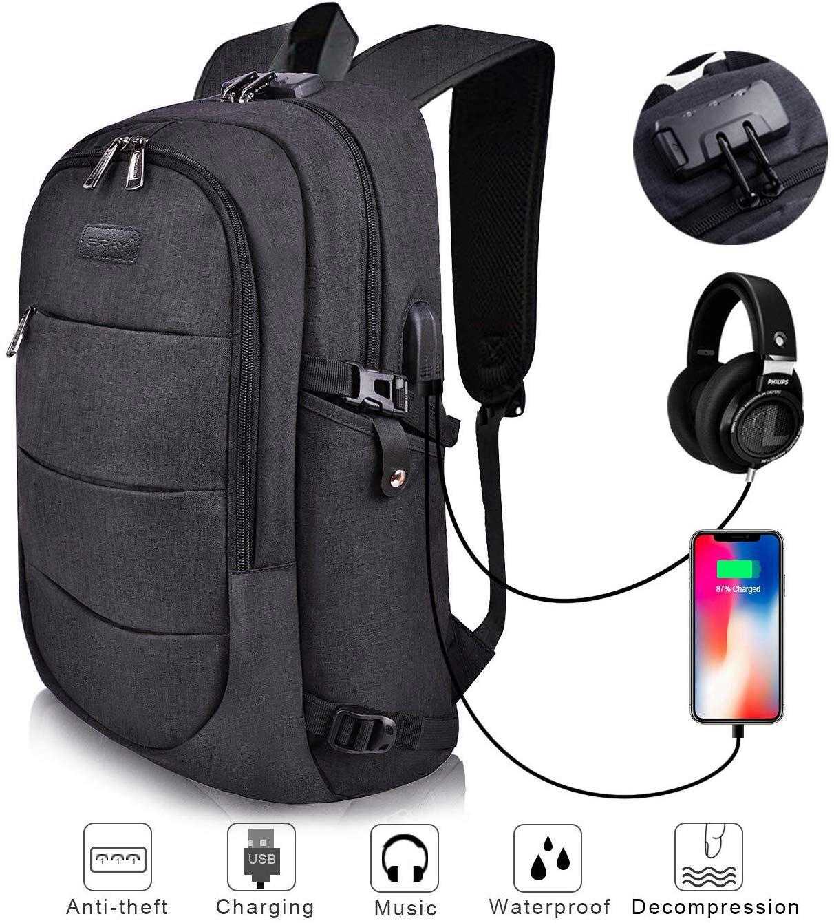 Mochila Antirrobo para Ordenador o iPad hasta 15.6