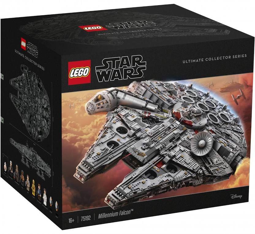 Millennium Falcon Lego Star Wars75192