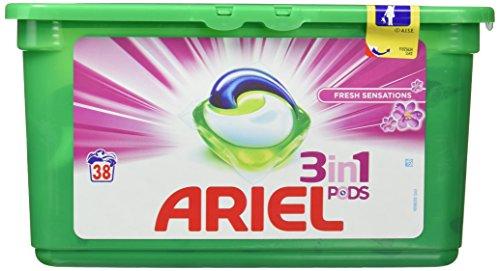 Ariel Sensaciones Detergente en Cápsulas - 38 Lavados