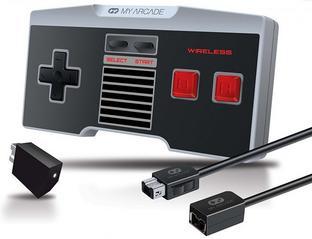 Combo Kit: Mando Wireless Para NES Classic + Cable 3m