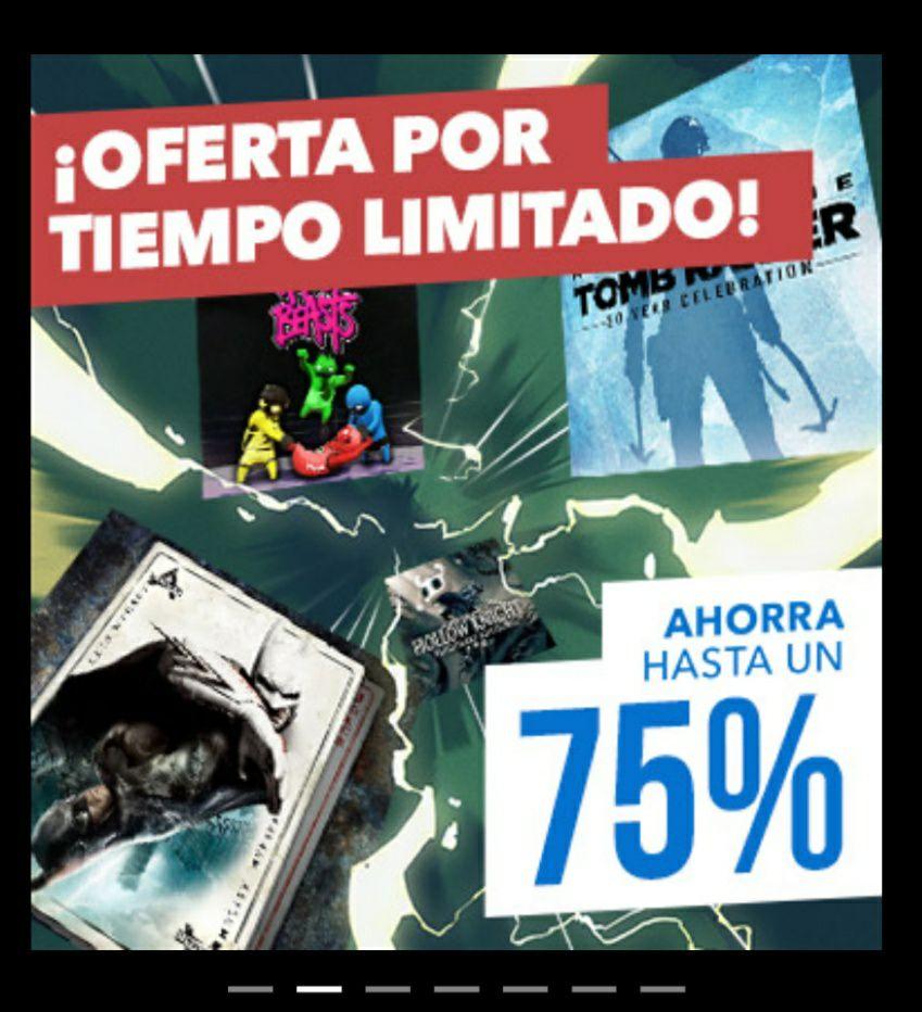 Ofertas flash PS Store