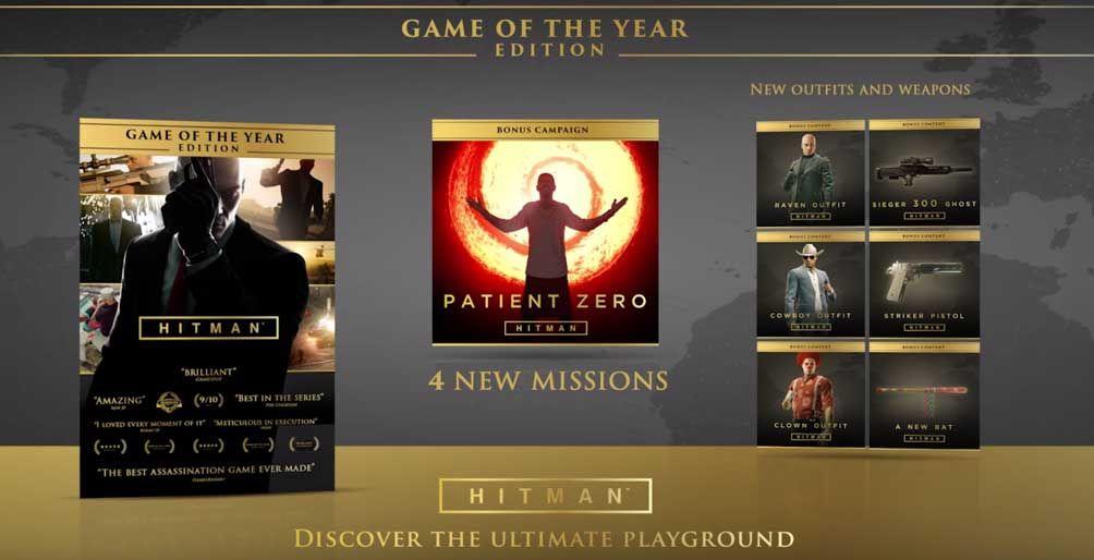 -83% Hitman: Game of the Year Edition con la primera temporada al completo y nuevos DLC