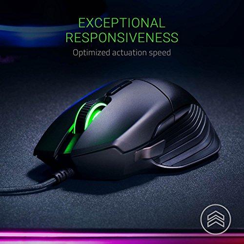 Ratón gaming Razer Basilisk 16000PPP y RGB