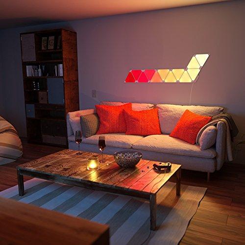 [MINIMO] Nanoleaf Aurora Smarter Kit Set de iluminación LED