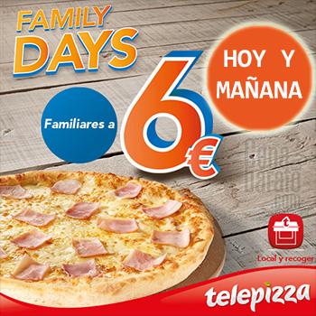 Family days telepizza