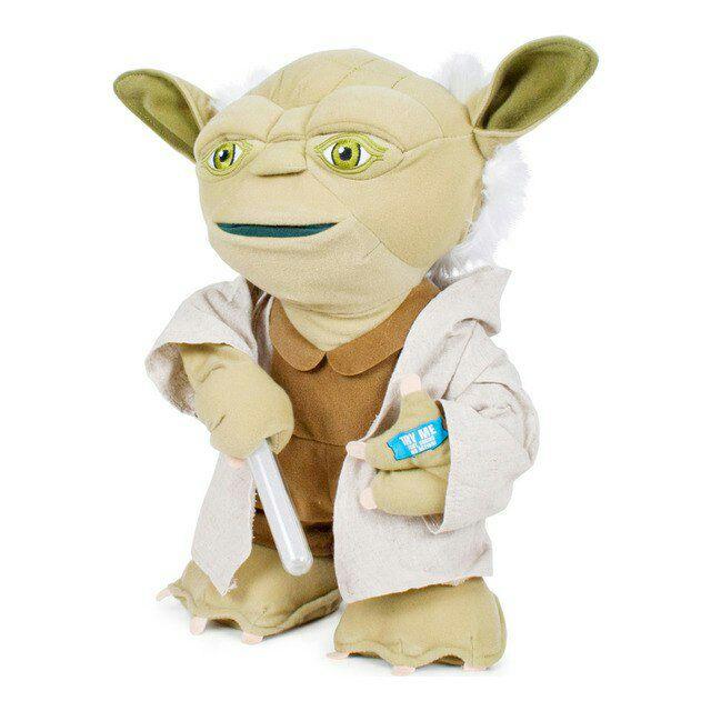 Peluche Yoda 60cm con sonido Star Wars