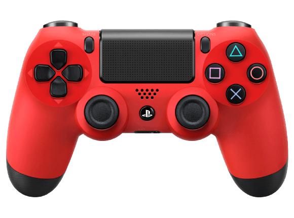 Mando PS4 rojo MediaMarkt (Solo recogida en tienda)