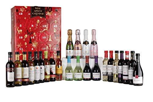 Calendario de adviento de vino Francés
