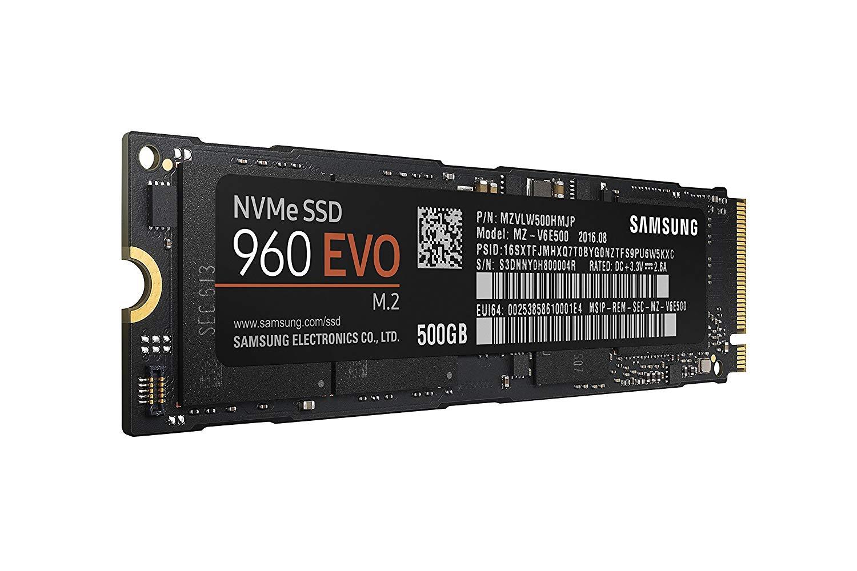 Samsung 500GB 960 EVO PCI Express 3.0 x4 - NVMe - Amazon UK