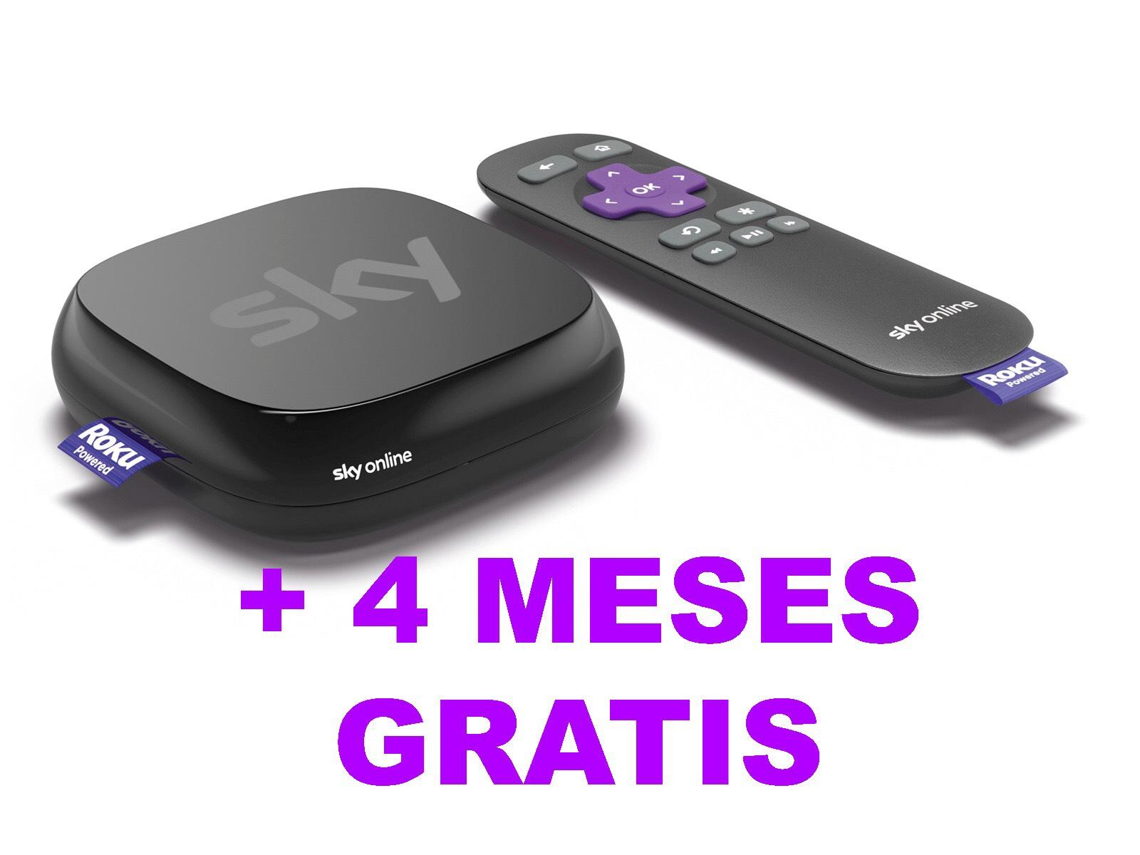 Sky GRATIS + Sky TV Box hasta finales de marzo 2019 con Yoigo