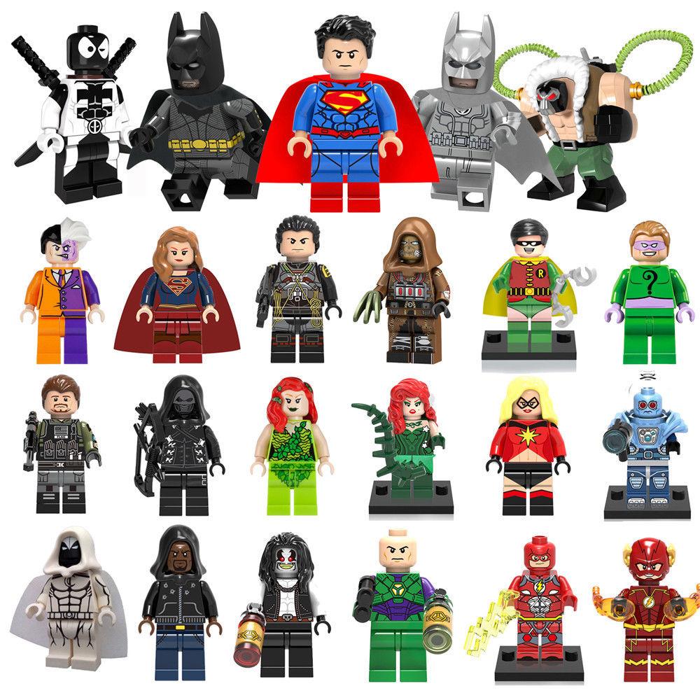 Surtido de minifiguras LEGO superhéroes Marvel, Infinity War, ...