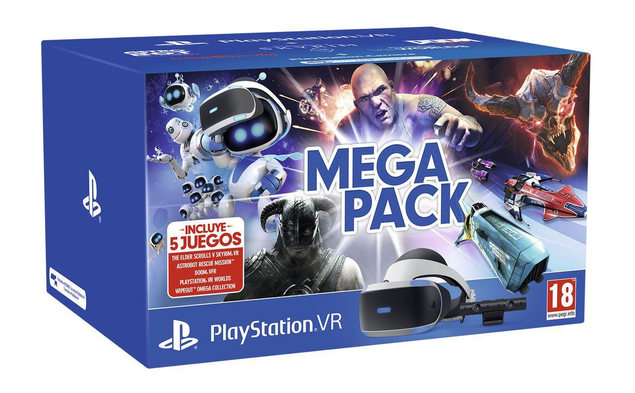 Megapack Playstation VR + 5 Juegos!