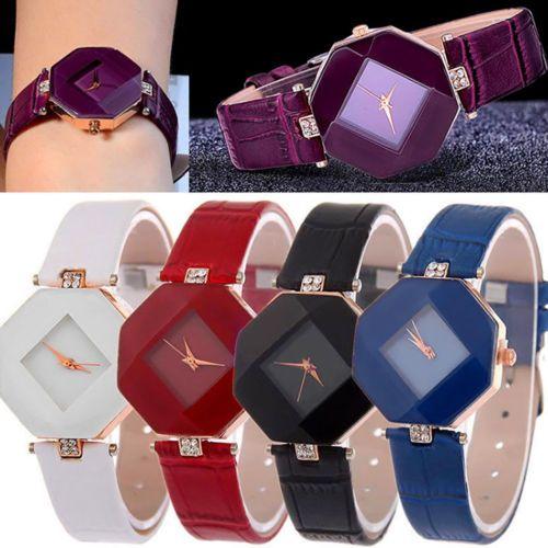 Elegante reloj de mujer de diferentes colores