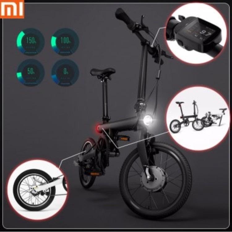 Bicicleta eléctrica QiCYCLE de Xiaomi