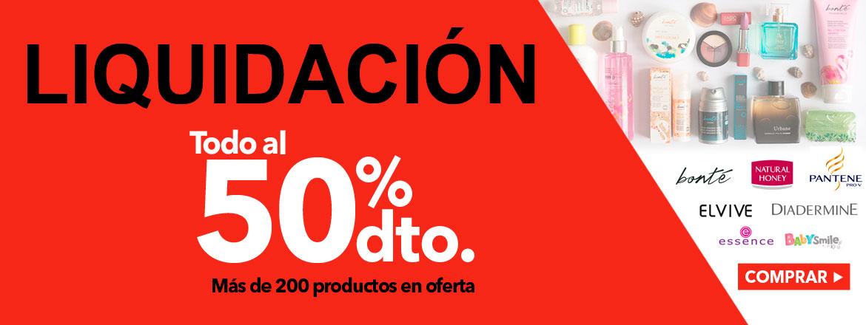 [LIQUIDACIÓN] Gran selección de artículos al 50% en Clarel.es