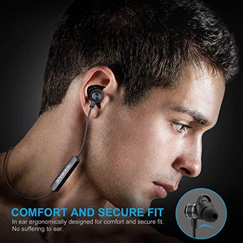 Tiergrade Auriculares Bluetooth 4.1 Sonido Estéreo Inalámbrico Headphone con Micrófono para Deporte Correr